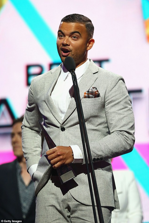 Embarrassed: Speaking to The Daily Telegraph , Guy said his own experience at once being roasted by a comedian at a similar awards show turned him off the style of hosting, which has been adopted by other emcees before him. Guy (pictured) said. Here at the ARIA Awards in 2013