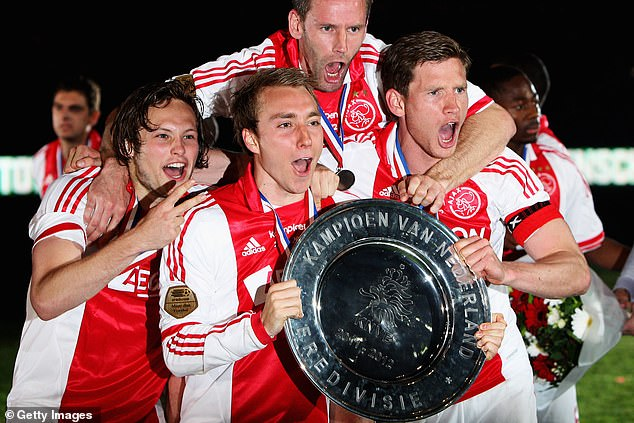 Eriksen and Vertonghen have been team-mates for years, dating back to their time at Ajax