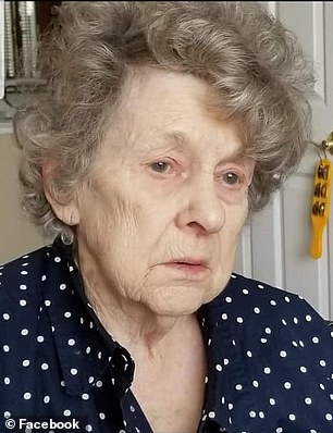 Glennetta Belford, (pictured above) had been last seen around 4:15 p.m. Monday. The 97-year-old suffers from dementia, is mostly nonverbal and tends to hide, or hunker down, according to the Roseville Police Department