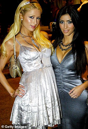 But once upon a time it was not all rosy for the friend of Paris Hilton; seen in 2007