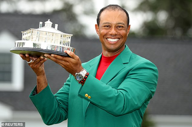 The reference: The Tiger Wood inspiration comes from his fall from grace both professionally on the course and personally following numerous scandals surrounding his extramarital affairs around 2008 and then big comeback in 2019 to win the Masters