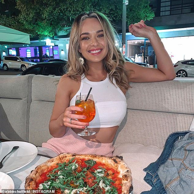 It's official! Abbie Chatfield (pictured) has confirmed her romance with The Bachelorette's Todd King, after being dumped by Matt Agnew in The Bachelor finale