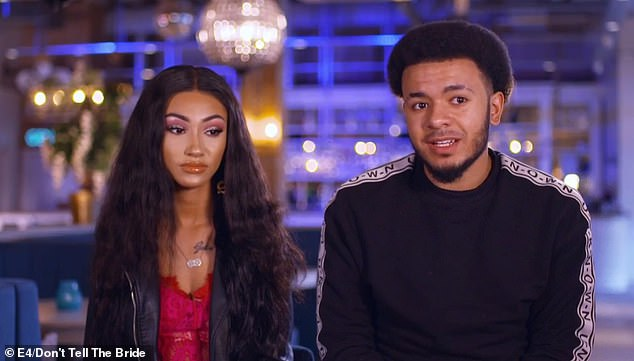 Shanise Frame, 19, andYanis Wilkinson Teece, 23, have split, months after their wedding was cancelled when they broke the rules on Don't Tell The Bride