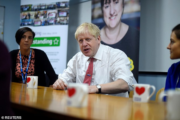 Boris Johnson spoke about the case yesterday as he met mental health professionals at Watford General Hospital on Monday