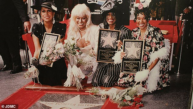 The three-time Grammy-winning sisters earned a star on the Hollywood Walk of Fame in 1994