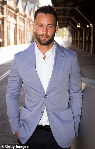 Official! Jimmy Bartel (pictured in 2015) appears to have confirmed his romance with Melbourne socialite Lauren Mand, two months after announcing his split from wife Nadia