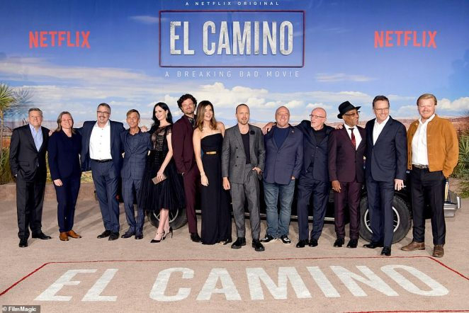 Epic reunion: The premiere marked a massive reunion for the cast of the show, which ended in 2013