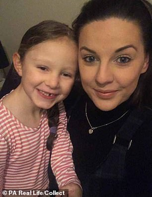 Remembering how Darcy was 'over-the-moon' when she first learned she was to become a big sister, full-time mum, Emily said: 'She was the most special person. Darcy was so kind and the memories I have are of her when she was thinking about other people