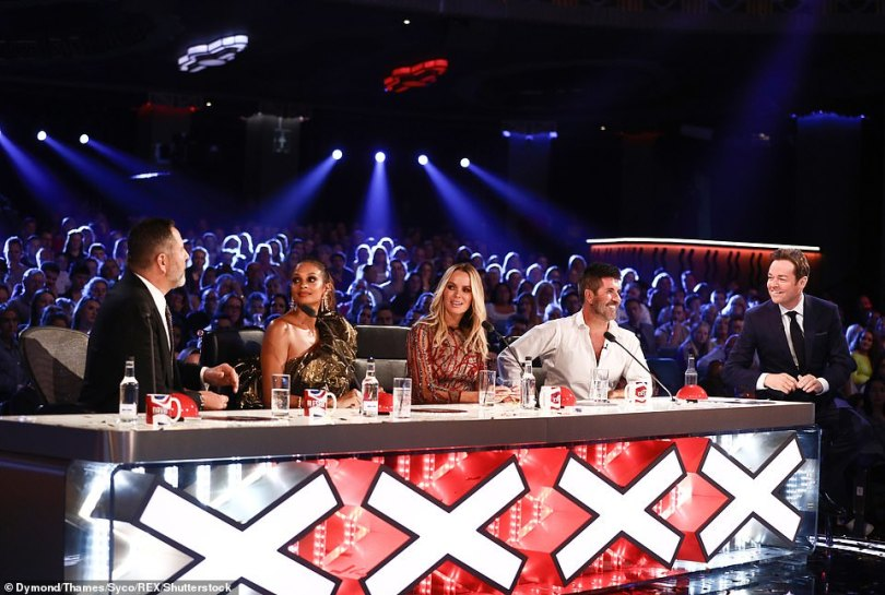 Popular: Bosses at ITV have decided to pull the plug on the sister show to Britain's Got Talent, which has been hosted by Stephen Mulhern (pictured right with judges David Walliams, Alesha Dixon, Amanda Holden and Simon) since it launched in 2007