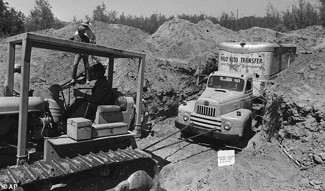 Soon after arriving at the quarry, Police discovered that the buried truck was registered to the quarry owner's son, Frederick Woods