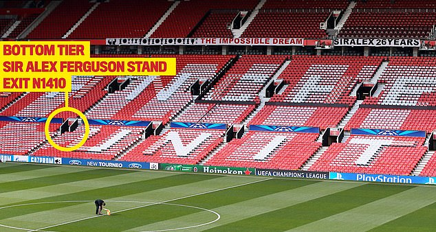 Stewards were found to be shockingly at fault in the tragic death of John Whale at Old Trafford