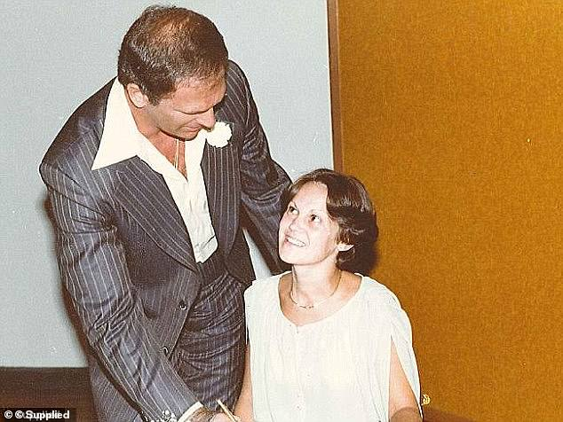 Smith married Debra Bell in Long Bay jail in 1980 (pictured) and the couple had three children. They eventually divorced but Debra has remained a loyal ex-wife. She has previously said she was horrified to learn her husband was a drug dealer