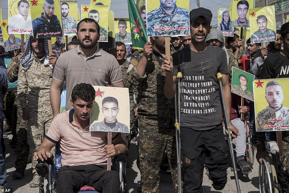 Kurdish forces led the fight against ISIS with support from an international coalition headed by the US, but are now facing the prospect of having that support suddenly withdrawn