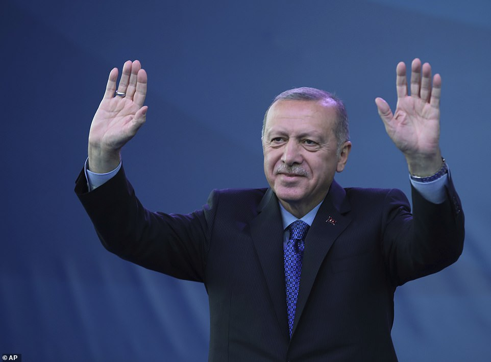 President Erdogan has outlined plans to create a 'peace corridor' in northern Syria in order to resettle some 2million refugees currently in Turkey