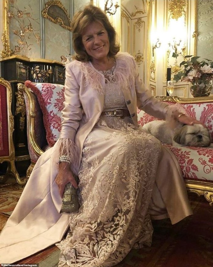 Emma Rutland, the 11th and current Duchess of Rutland, lives with her husband David Manners, the 11th Duke of Rutland, in the opulent Belvoir Castle in Leicestershire. She celebrates her birthday in a spacious room named after the fifth Duchess of Rutland, Elizabeth