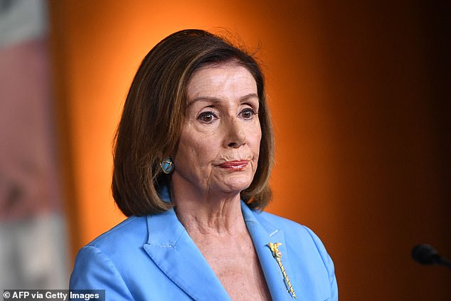 Speaker Pelosi declared, in response, the president is not above the law