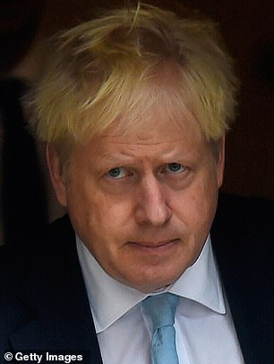 A Downing Street spokesman has revealed conversations between the Prime Minister (pictured earlier this week) and Mr Trump have taken place about the case of Harry Dunn