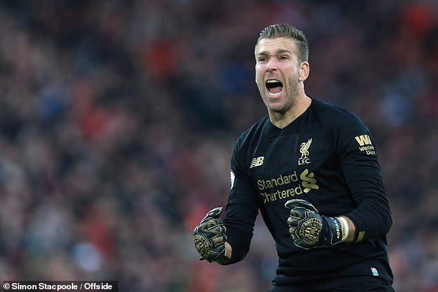 The Spaniard Adrian has excelled in the absence of Alisson by a free transfer