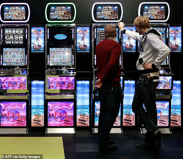 Psychologists from the University of British Colombia, Canada, have found that siblings of problem gamblers show a similar propensity to take risks if put into a slot machine-type environment (file photo)