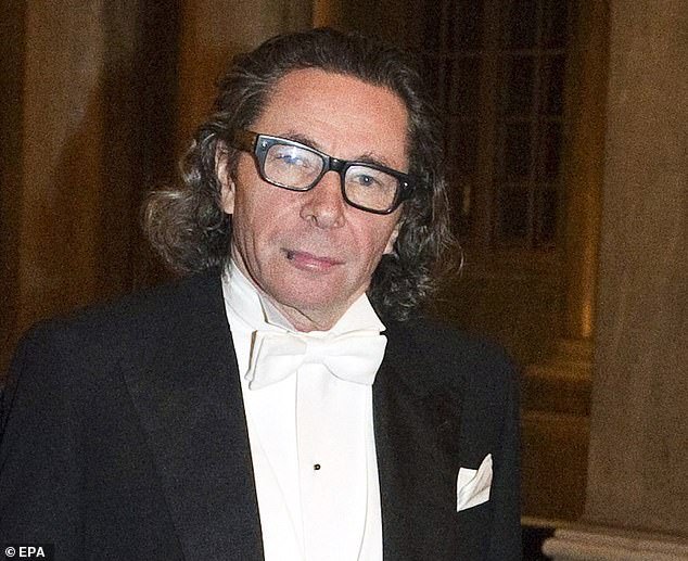 French photographer Jean-Claude Arnault, the husband of former Swedish Academy member Katarina Frostenson, attends the Kings Nobel dinner at the Royal Palace in Stockholm, Sweden, 11 December 2011
