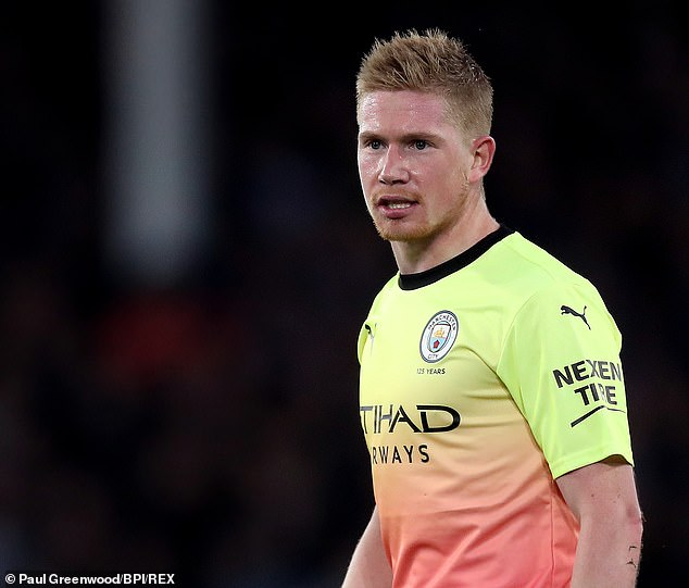 Eight assists in seven league games tells you all you need to know about Kevin De Bruyne