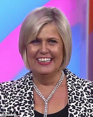 New 'do: Tammy's blonde hair was cut into a chin-length bob and given more contrast