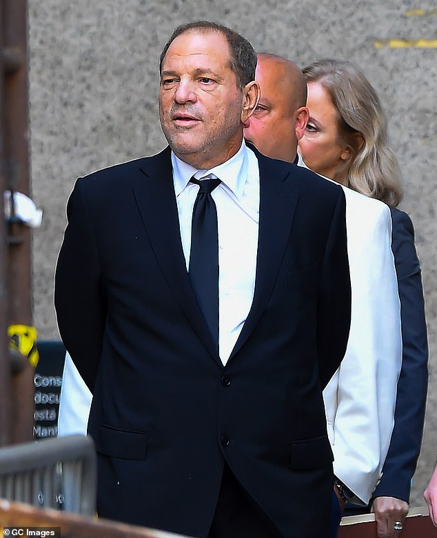 In the past, the network has refuted Farrow's claims that it killed the story, saying: 'The assertion that NBC News tried to kill the Weinstein story while Ronan Farrow was at NBC News, or even more ludicrously, after he left NBC News, is an outright lie.'