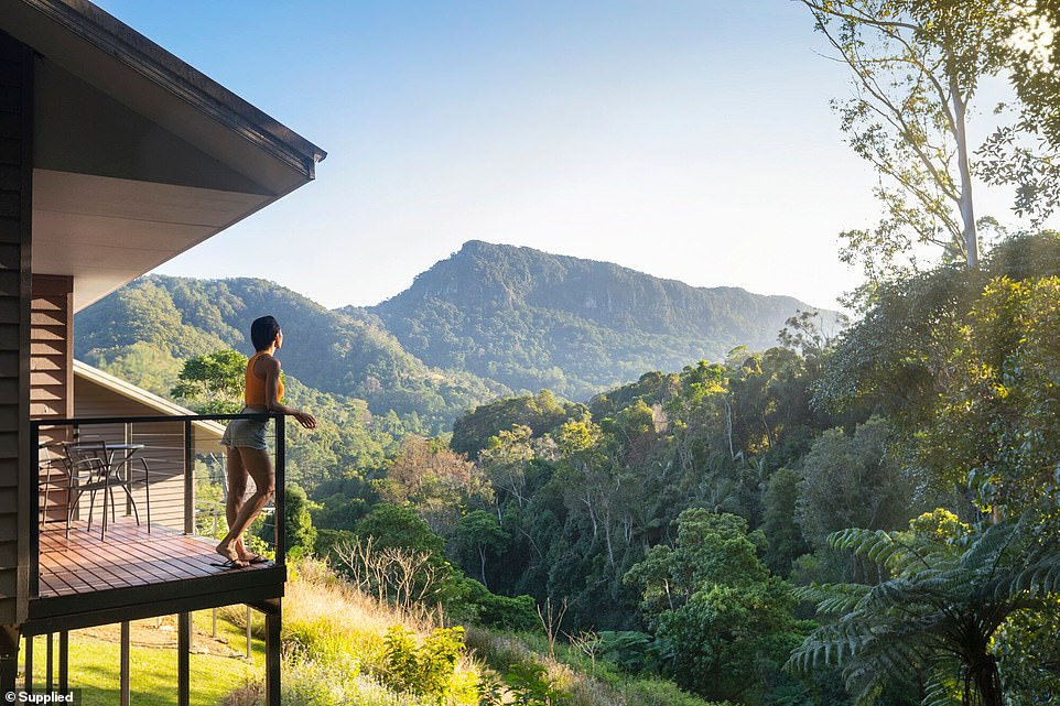 Described as a 'secluded place of tranquil beauty', Eden Health Retreat is nestled in a rainforest at the end of the Currumbin Valley, a stunning section of the Gold Coast Hinterland in Queensland