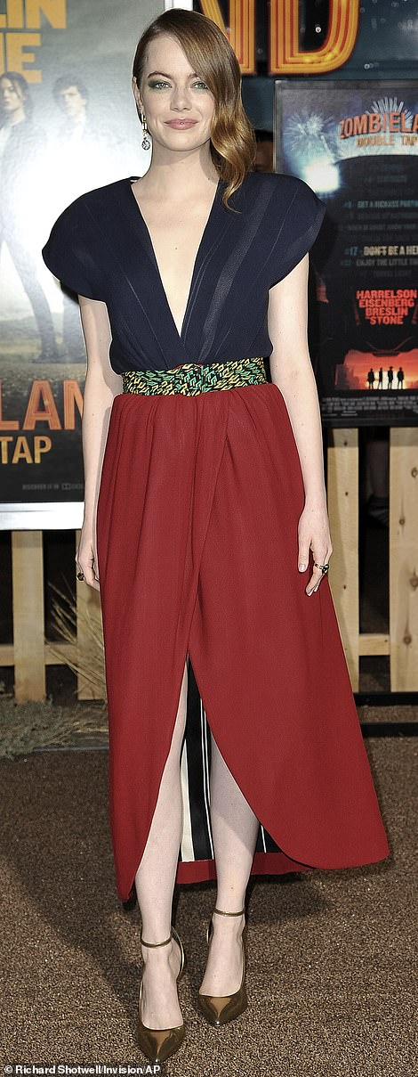 Emma Stone joins Abigail Breslin at Zombieland: Double Tap premiere