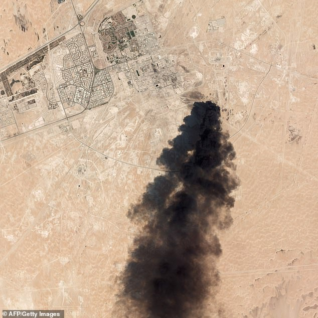 On September 14 Saudi Arabia's largest oil refinery at Abqaiq was hit by explosive-laden drones that Riyadh said came from Iran