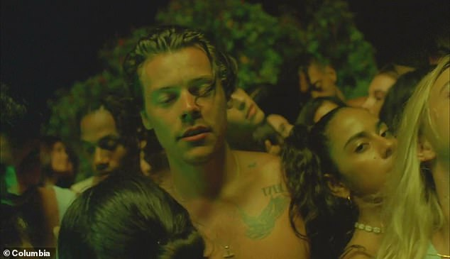 Meaning:Harry recently said of his second solo album in Rolling Stone's September issue, he admitted it is 'all about having sex and feeling sad'