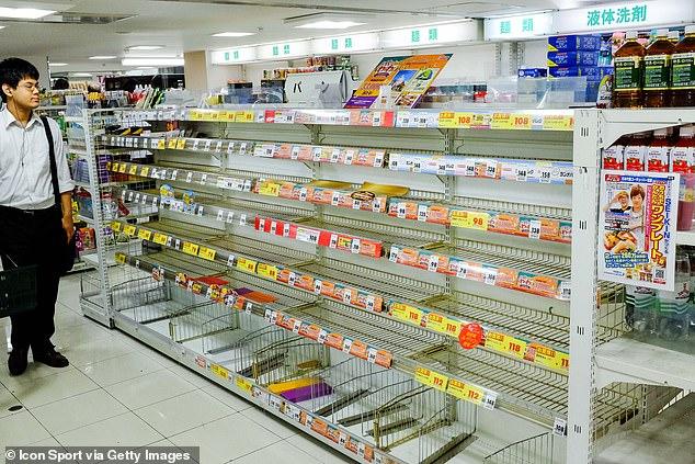 Image result for typhoon hagibis tokyo bread