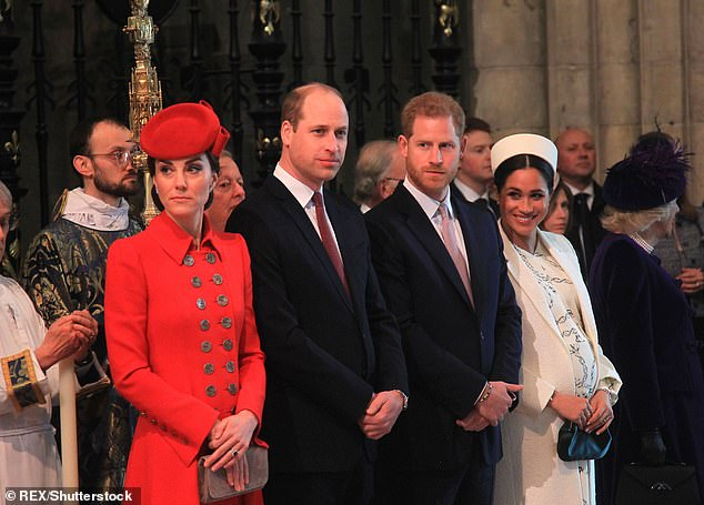 Palace sources explain that Sophie is a victim of the big break-up between Princes William and Harry