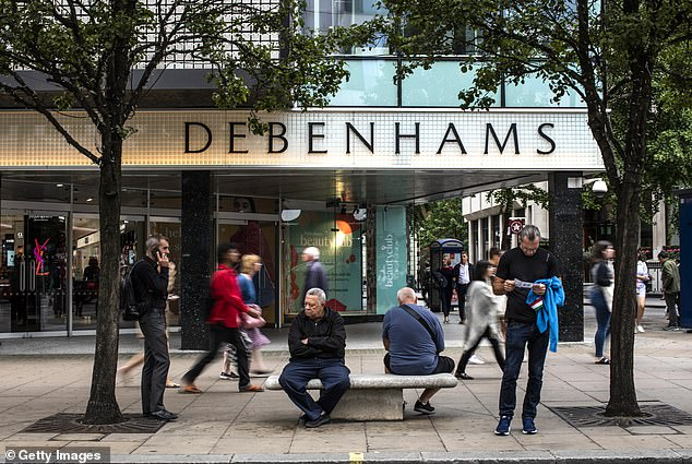 This year Debenhams - which announced last month to close 22 stores - offers rebates of 90 percent
