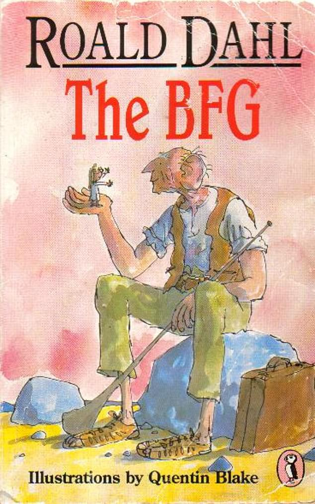 The author wrote a dedication to Olivia in his book The BFG that was first published in 1982