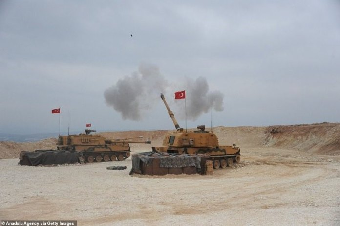 """On October 9, armored personnel from the Turkish army launched Operation Peace Spring, alongside the Syrian Free Army, to try to create what they call a """"corridor of the peace """", but critics remain skeptical about their motives."""
