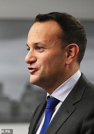 What Johnson has now done is revert to the so-called Ireland-only backstop proposals. We will see as negotiations proceed this weekend whether agreement on this can be achieved with Brussels. The Irish Taoiseach is pictured above