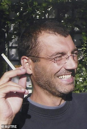 Xavier Dupont de Ligonnes, pictured in the garden of his Nantes home in August 2003, was the subject of an international arrest warrant for the killings of 2011 in a mystery that France had finally overcome