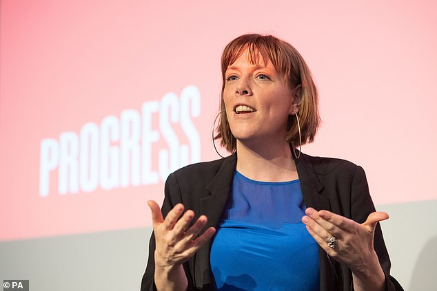 Ms Phillips (pictured) said Mr Corbyn should step down as party leader if Labor is not the largest party in the lower house after the next parliamentary elections