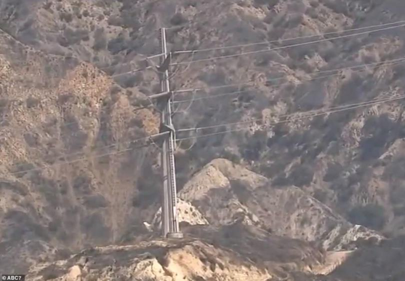 The Saddleridge Fire broke out after 9pm on Thursday in Sylmar, California along the 210 Freeway. It is believed to have started at the base of Southern California Edison transmission tower that is located behind a home in Sylmar