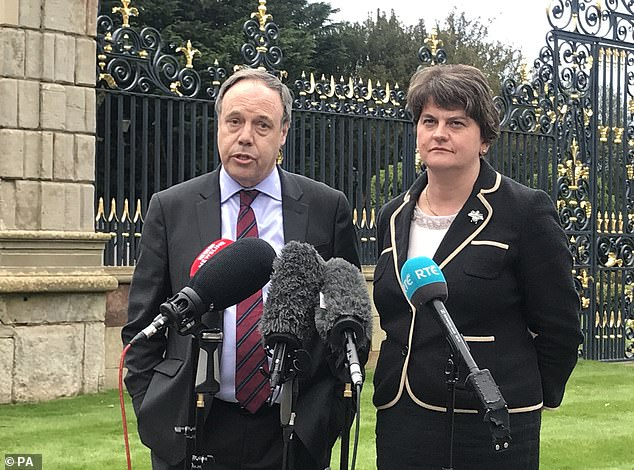 Nigel Dodds, the DUP's deputy leader, today warned that Johnson's eleventh-hour Brexit solution 'can not work'