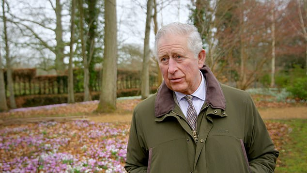 The Prince of Wales was pleased to have overcome criticism of his once-controversial methods in a two-part documentary commissioned by ITV. Pictured: The Prince on the grounds of Highgrove House near Tetbury, Gloucestershire, during filming