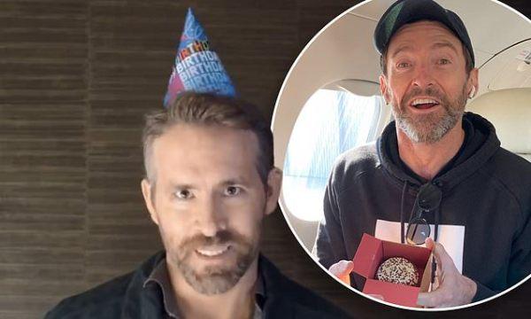 Ryan Reynolds serenades Hugh Jackman with a cheeky 51st birthday song