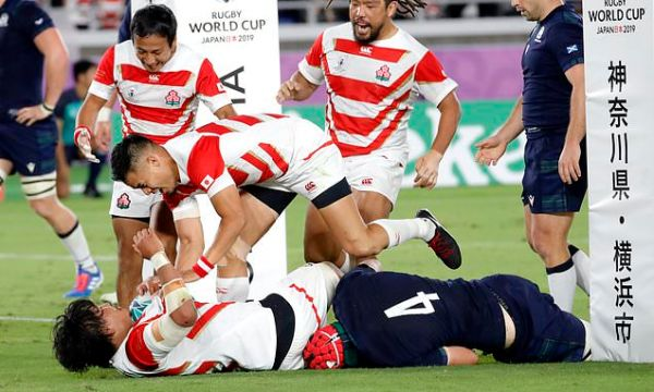 Japan v Scotland LIVE: Score and updates from Rugby World Cup