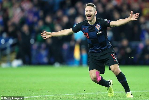 Former Everton man Nikola Vlasic had opened the scoring for Croatia in Cardiff