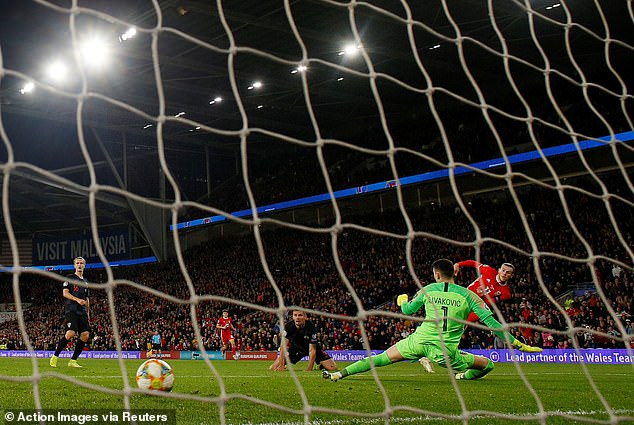 Gareth Bale popped up at the pivotal moment to lash the ball across goal to equalise for Wales