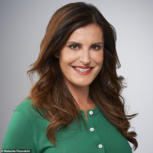 Author Alexandra Filia, 56, (pictured) from London, reveals how cosmetic treatments and daily workouts help to maintain her ageless appearance