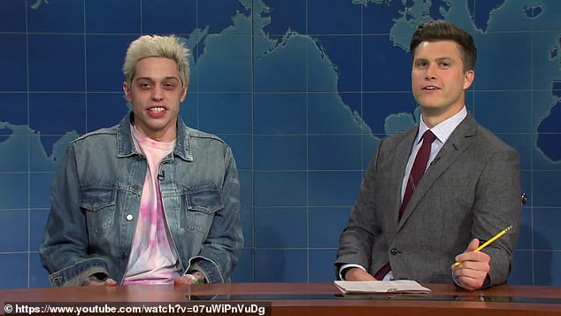 Weekend Update: He also appeared on Weekend Update, during a segment introduced by Colin Jost about a report by the CDC which revealed cases of syphilis, chlamydia and gonorrhea have gone up thanks to dating apps
