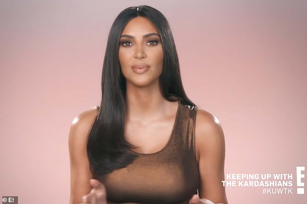 Different journey: The aspiring lawyer told Kanye that his journey didn't mean she was on the same spot with him