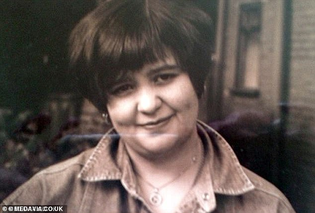 Despite her weight having plummeted, Miss Wall (above before surgery) didn't feel she had an eating disorder